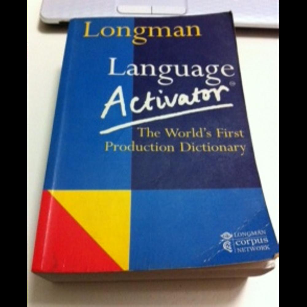 longman language activator ikinci el