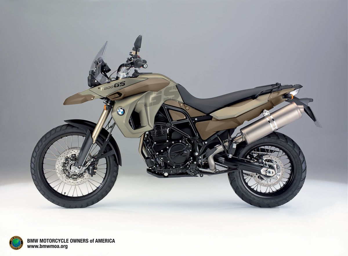 BMW F800GS Love The Colors