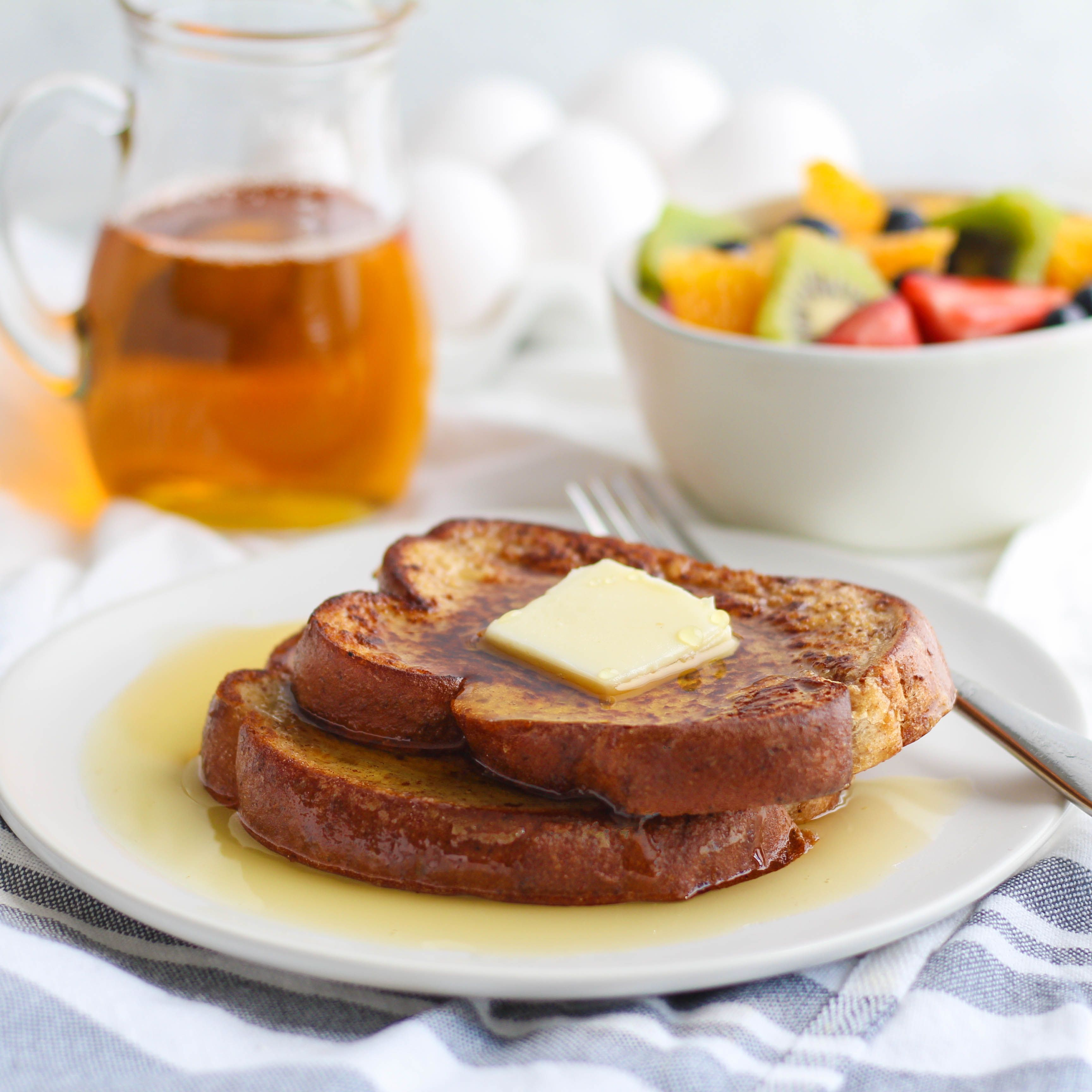 French Toast with Fruit Salad French toast recipe