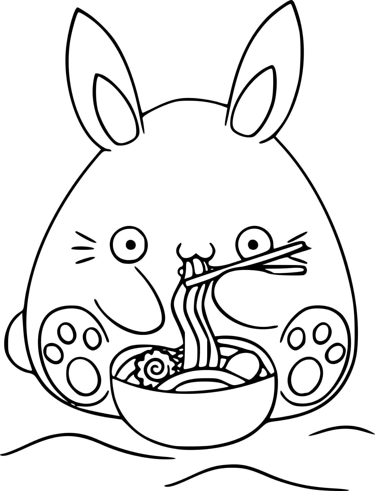 Coloring Kawai T L Loading Free Coloring Pages