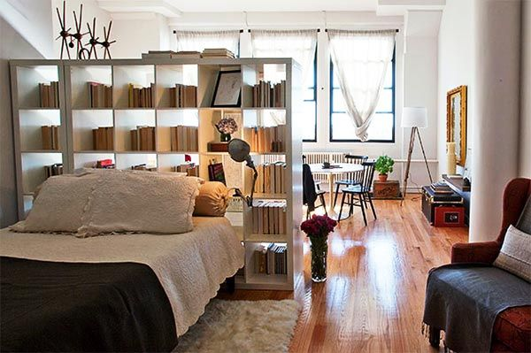Risultati immagini per arredare un monolocale interior for Piccoli piani di casa espandibili