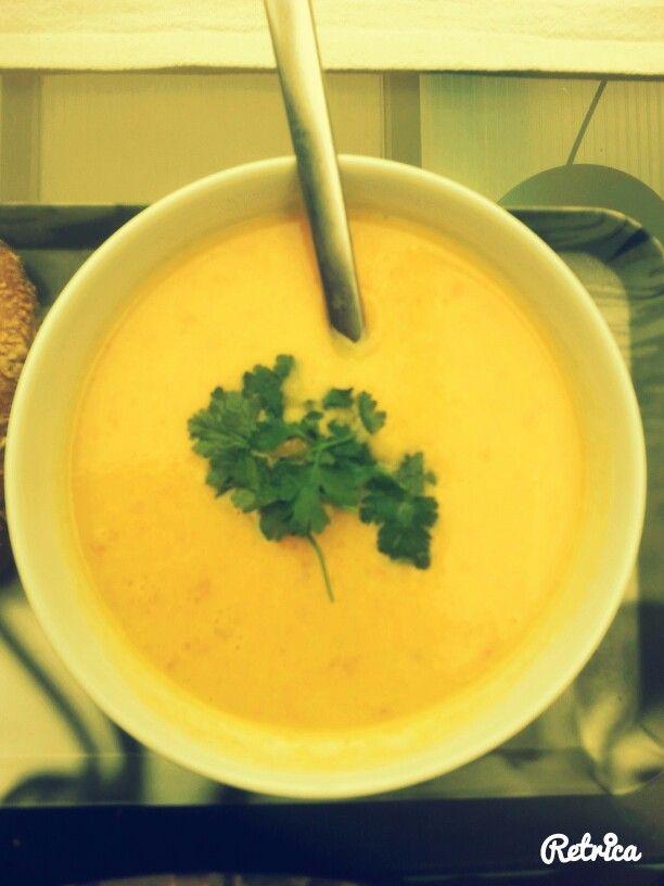 Karotten, Orangen Suppe