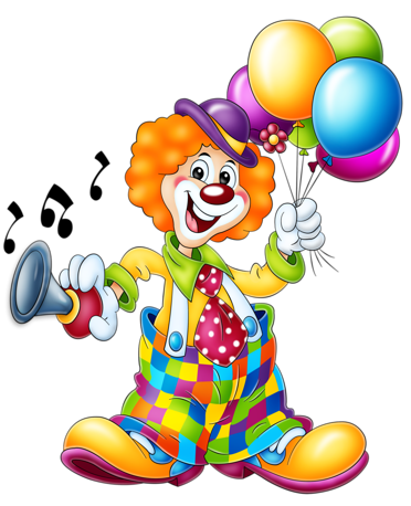 Gemälde clipart  clowns.quenalbertini: Circus - ClipArt | Photo, author Iriška ...