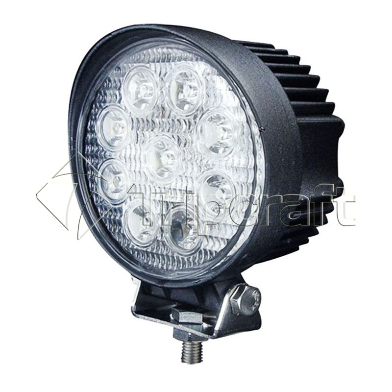 4inch 2025lm Led Light 27w Led Offroad Driving Work Spot Light Bar Truck Boat Ute Car Led Lamp Car Led Bulbs 12v Off Road Led Lights Led Work Light Work Lights