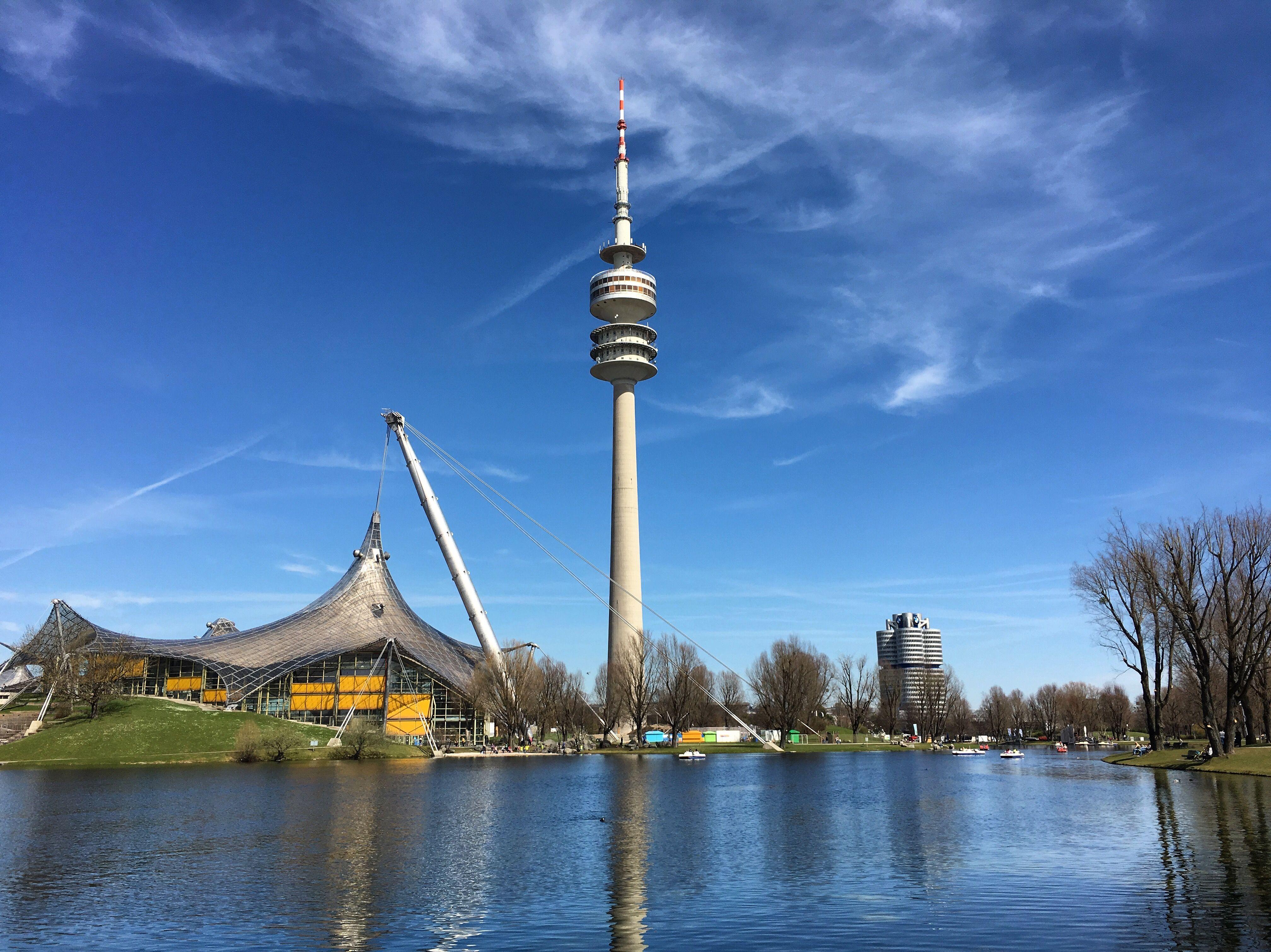 Olympiapark Olympiaturm Munich Munchen Minga Bayern Bavaria Deutschland Germany Munich Germany Germany Munich