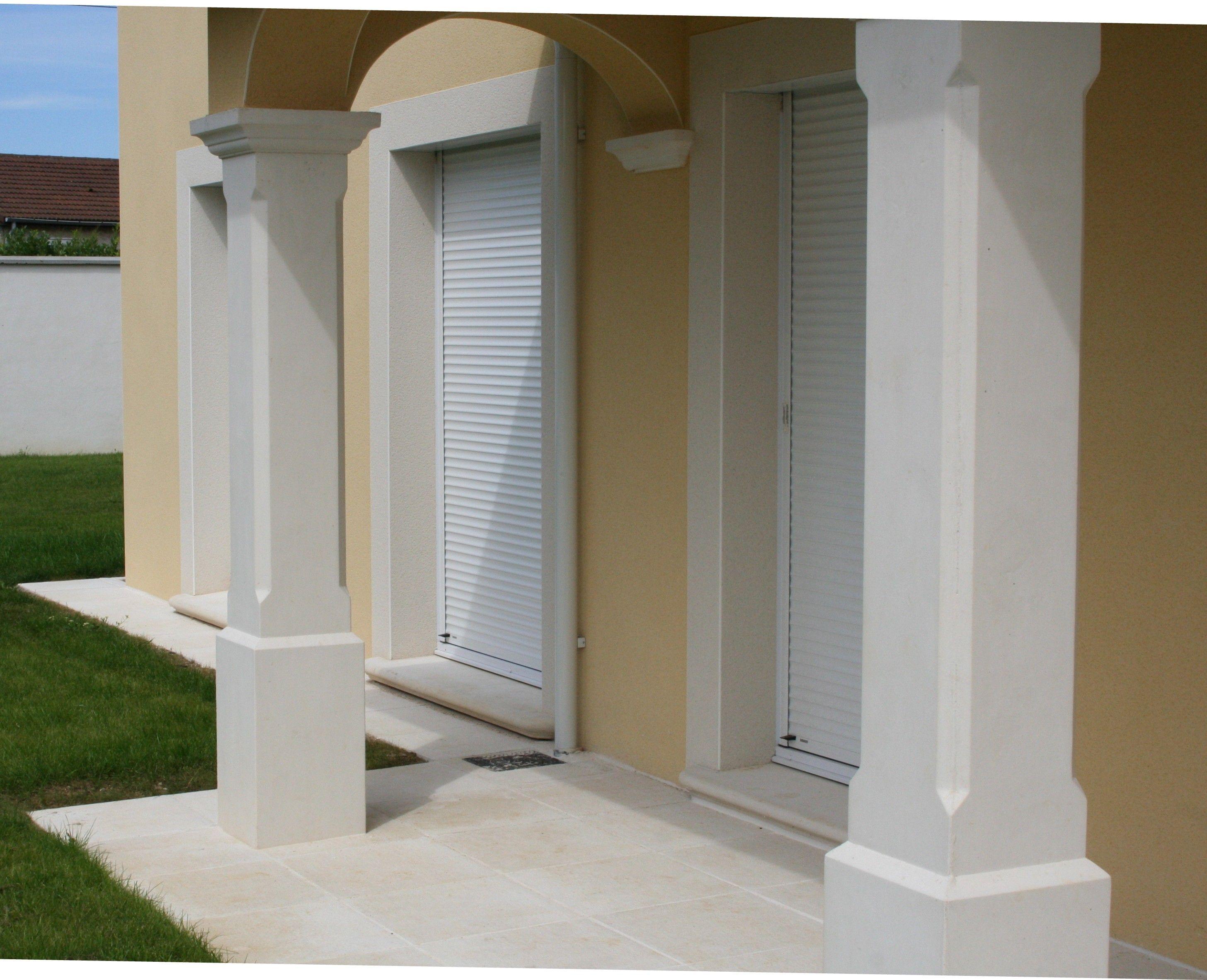 Habiller Un Pilier En Beton pilier de terrasse, pilier de loggia, poteau de soutènement