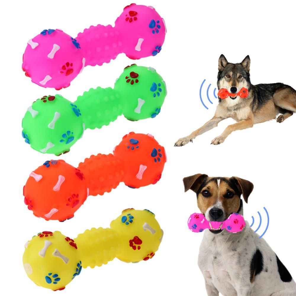 Ball Bone Shape Dog Squeakers Sound Toys Ae Dog Toys Pets