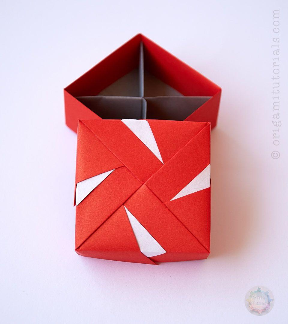 modular origami box tomoko fuse origami origami box. Black Bedroom Furniture Sets. Home Design Ideas