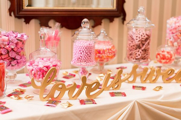 Jacquelyn And Eric S Wedding In Madison Wisconsin Wedding Candy Buffet Pink Wedding Candy Table Candy Bar Wedding