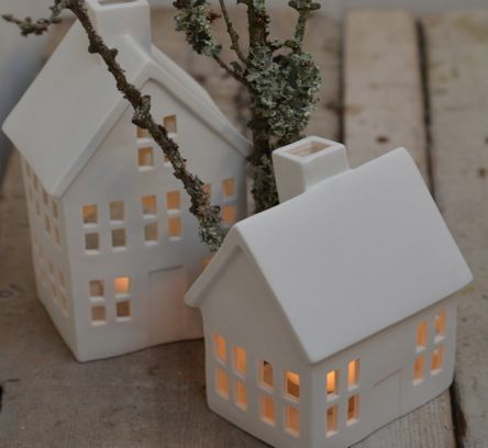 Ceramic House Tealight Holder My Studio Pinterest