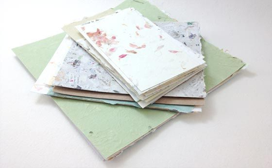 Handmade Paper Samples  Square by MapleStreetPaperCo on Etsy, $16.00