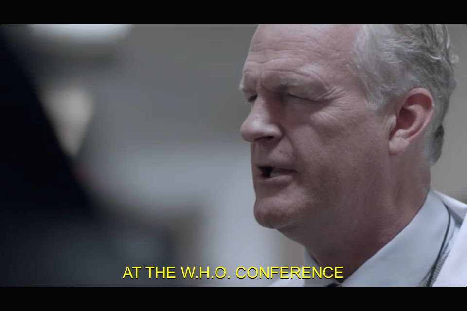 Ahhhhh moffat!! He had the pleasure of meeting mr. Holmes at the WHO conference lol
