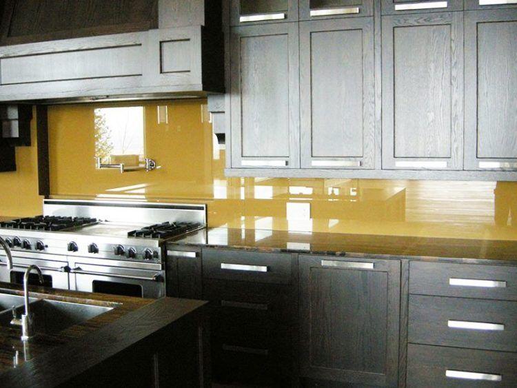 17 Yellow Kitchen Backsplash Ideas You Will Heart Glass Tile