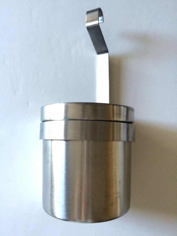 "IKEA Grundtal stainless steel cutlery caddy plant pot utensil storage holder 11"" #IKEA"