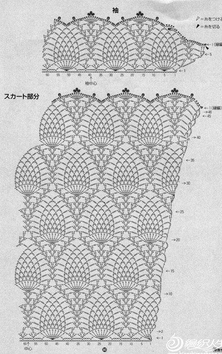 CARAMELO DE CROCHET: túnica verde | Patrones Crochet 2 | Pinterest ...