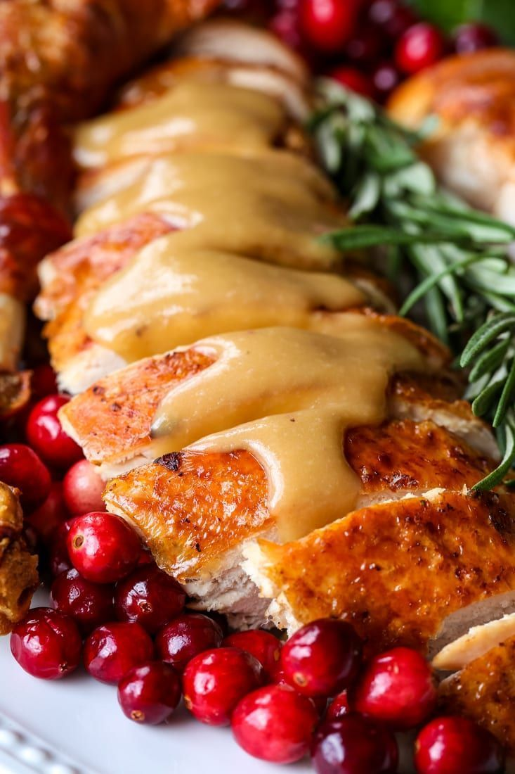 A Super Easy Turkey Gravy Made with Drippings!