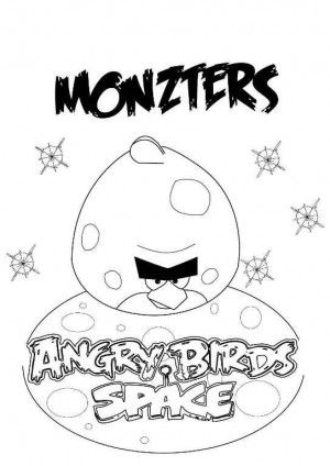 angry birds coloring pages 24 | Free Coloring Pages for Kids | Pinterest