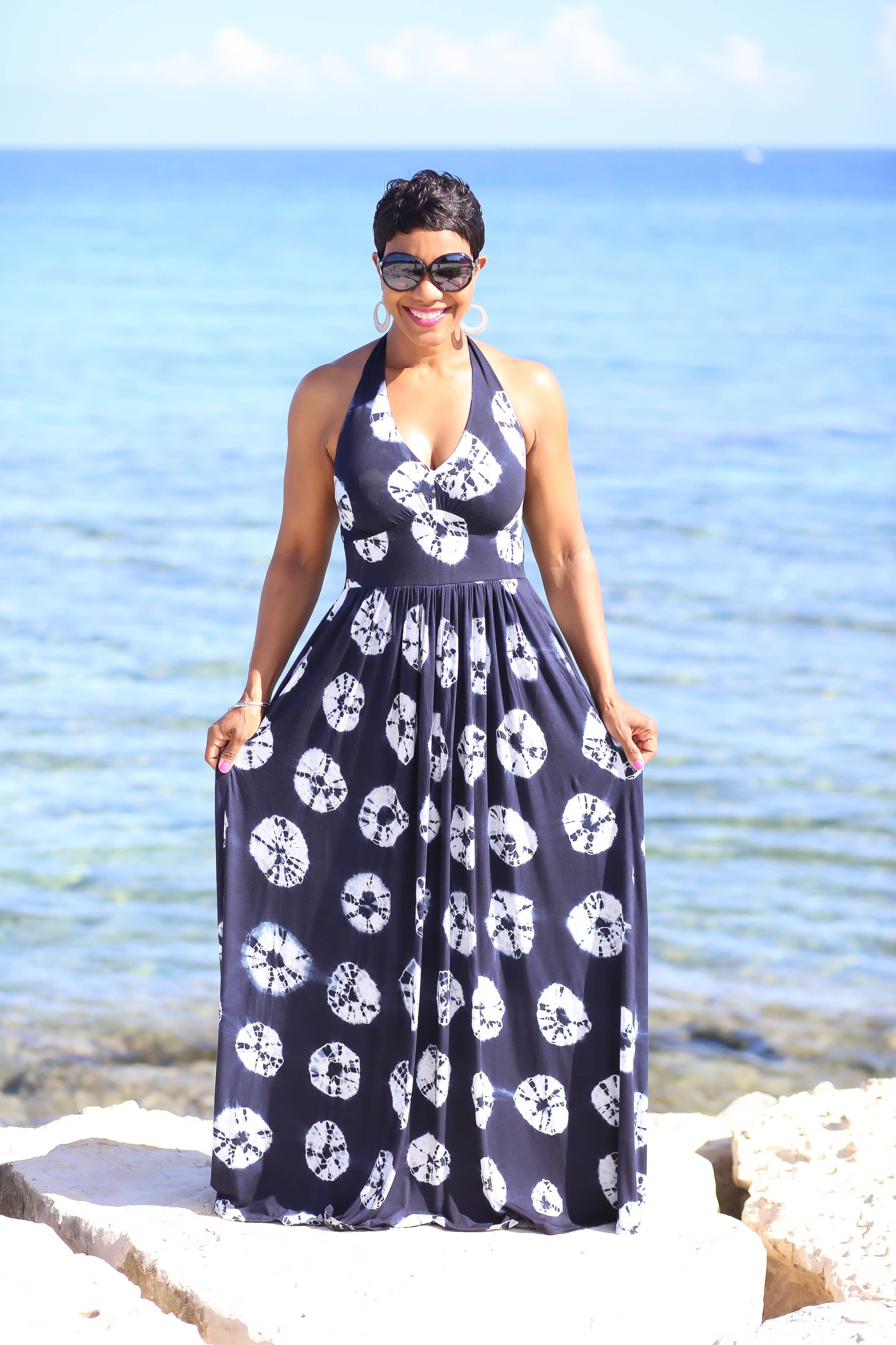 d312db957f DIY Simplicity 1881   Halter Maxi Dress