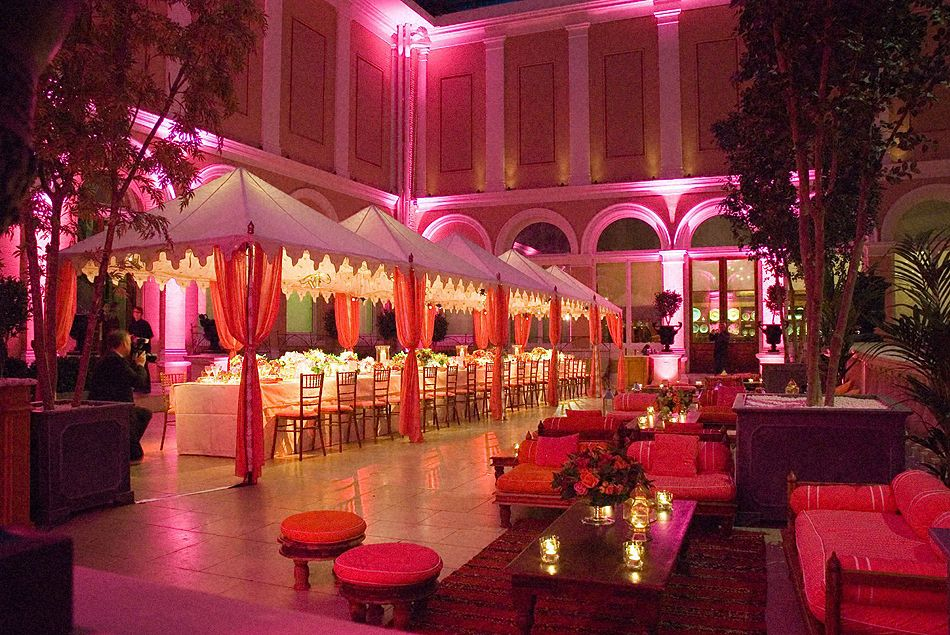 Indoor Indian Wedding Tent