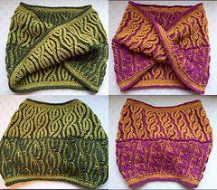 06104149685 Ravelry  Vakker Brioche Cowl pattern by Nona Davenport