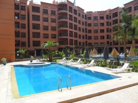 Appartement meublé Marrakech-Hivernage Immobilier au MAROC