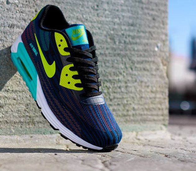 new style 4df44 615ef Nike Air Max Lunar 90 JCRD-Black-Farc Green-Dusty CCTS-Brave Blue