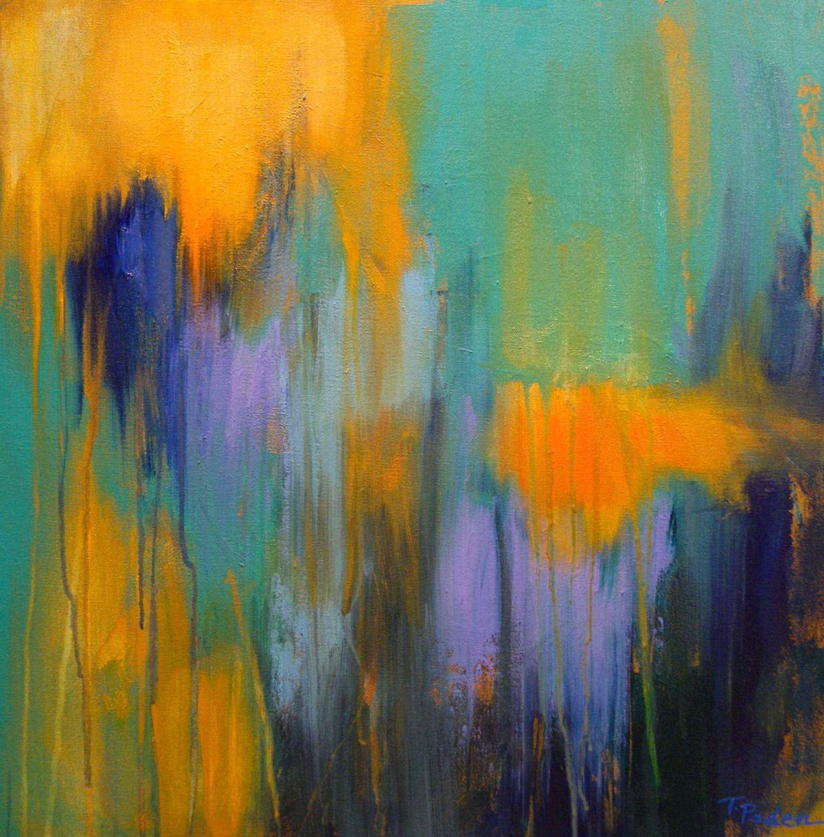 Abstract Paintings About Love | Theresa-Paden-Abstract-Artist ...