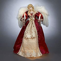 Christmas tree topper, Christmas Angel, Christmas decorations ...