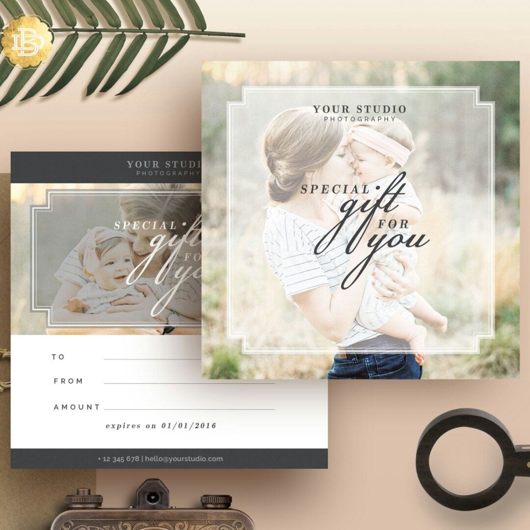 Photography gift certificate template gift card design photo photography gift certificate template gift card design photo marketing template for photographers instant download gc002 yelopaper Image collections