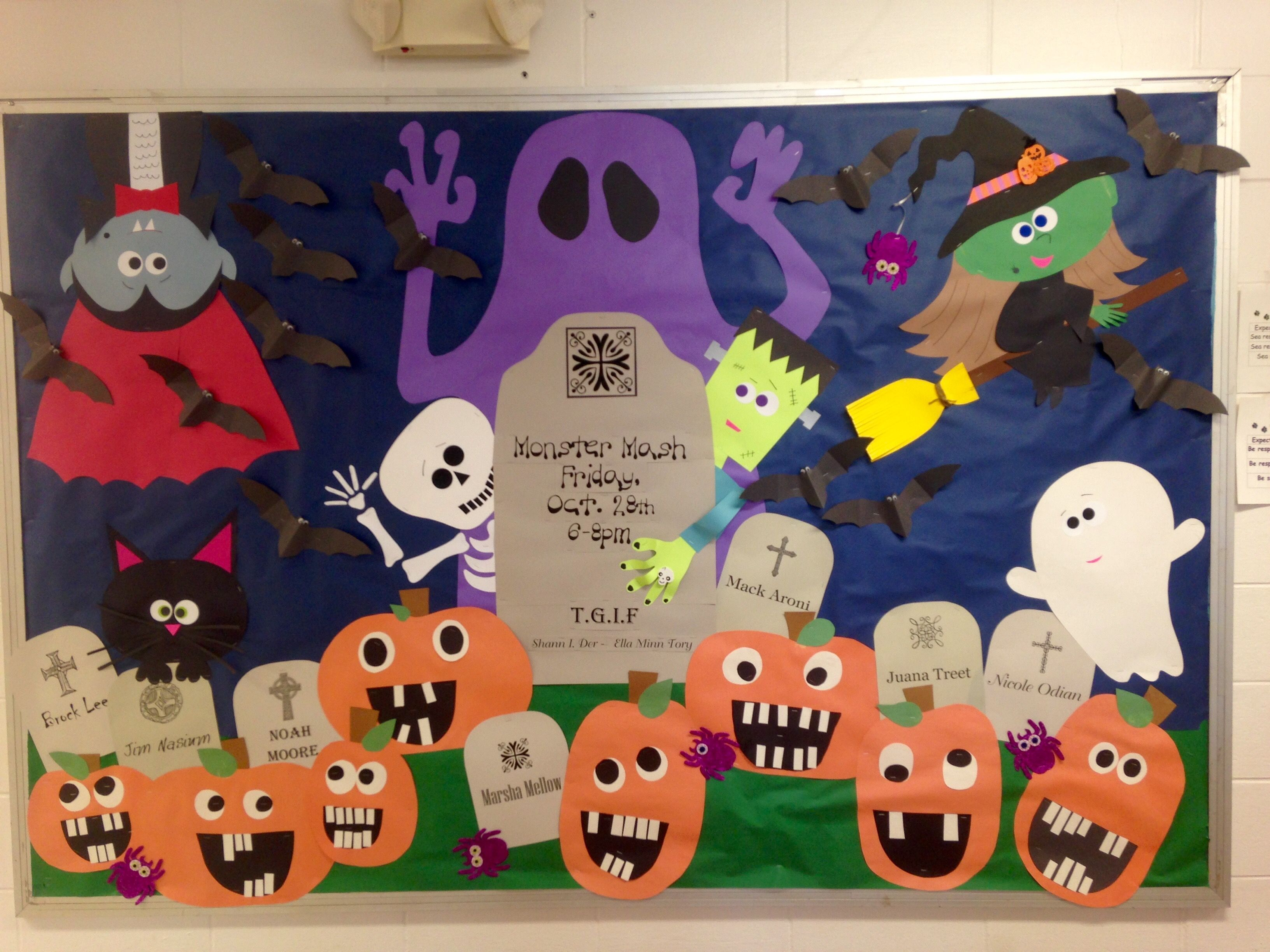 Halloween Bulletin Board 2016 Monster Mash #halloweenbulletinboards Halloween Bulletin Board 2016 Monster Mash #halloweenbulletinboards Halloween Bulletin Board 2016 Monster Mash #halloweenbulletinboards Halloween Bulletin Board 2016 Monster Mash #halloweenclassroomdoor