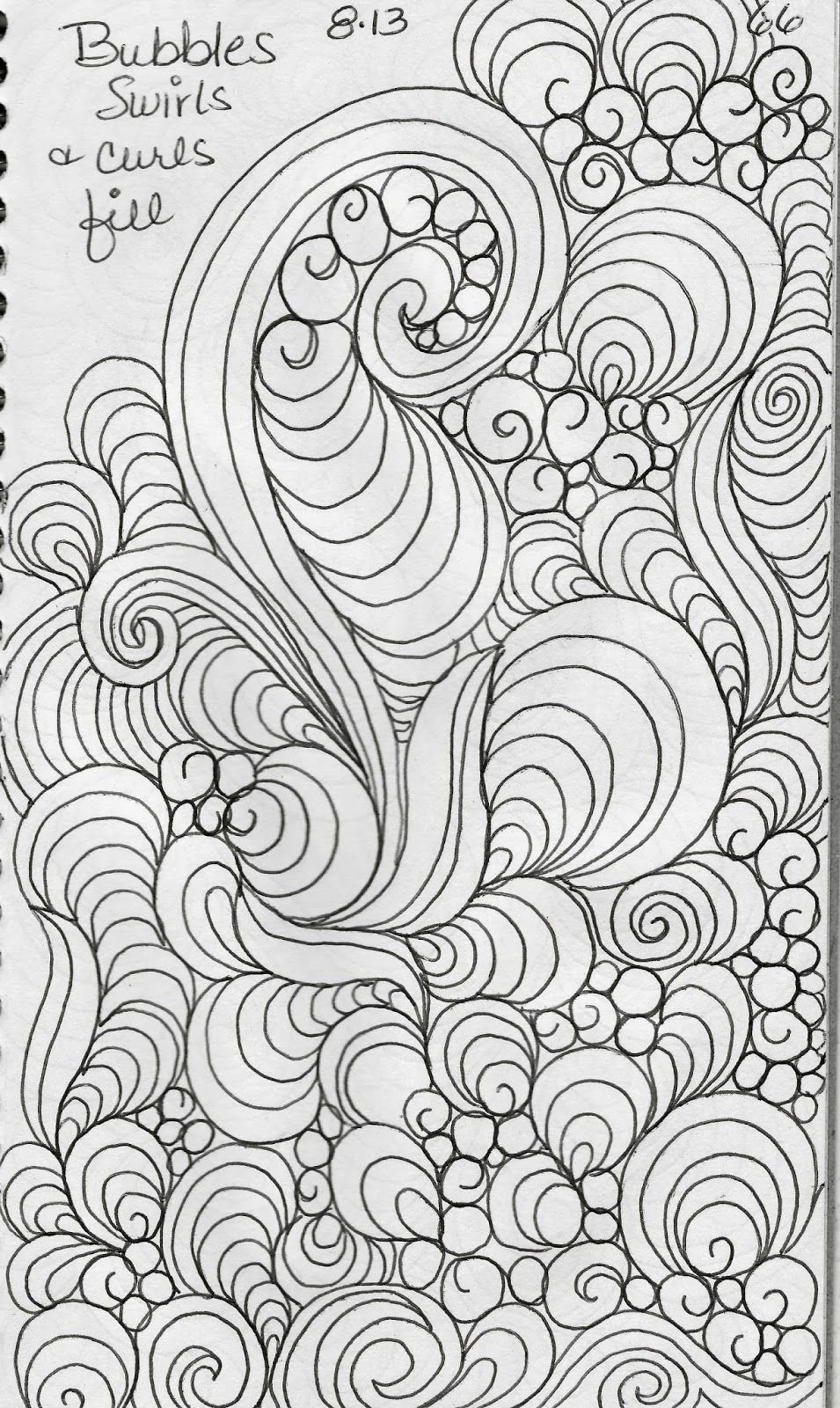 LuAnn Kessi: Sketch Book.....Leaf Designs 5 http://www.pinterest.com ...