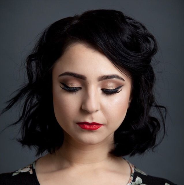 TheBeautyBoard Makeup Of The Day S Inspired By MahaKhan - Hairstyles for short hair upload photo