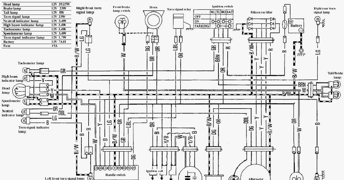 Suzuki Ts125 Wiring Diagram Honda Cb400f Electrical Wiring Diagram Jpg 1278 909 Electrical Part 2 Complete Wiring Diagrams O In 2020 Honda Cb750 Cb750 Suzuki Ts125