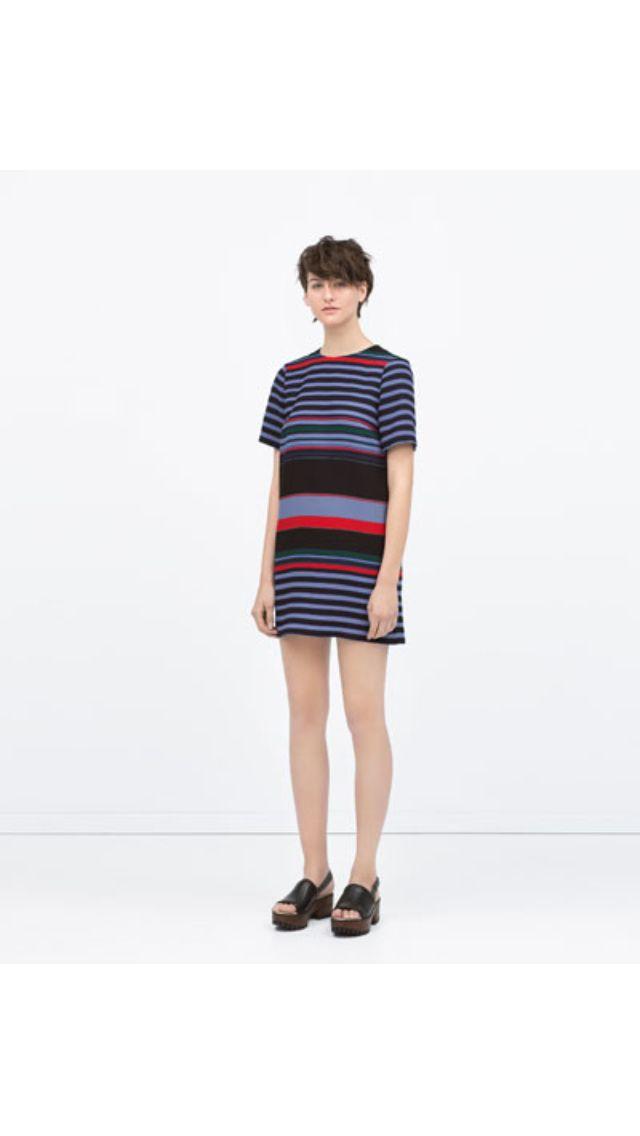 Zara spring 2015 - stripes dress