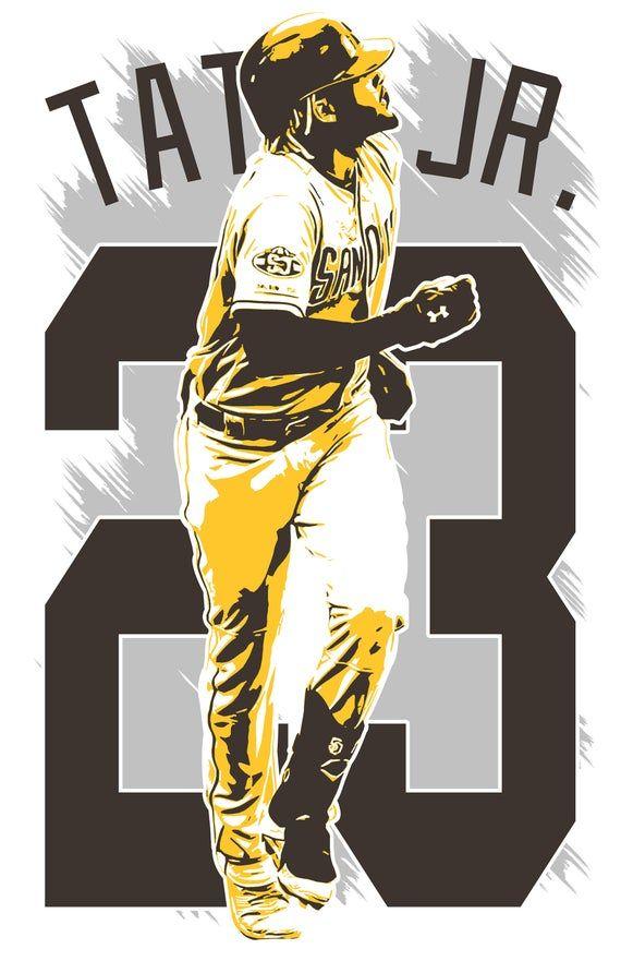 Photo of FERNANDO TATIS Jr. art print San Diego Padres