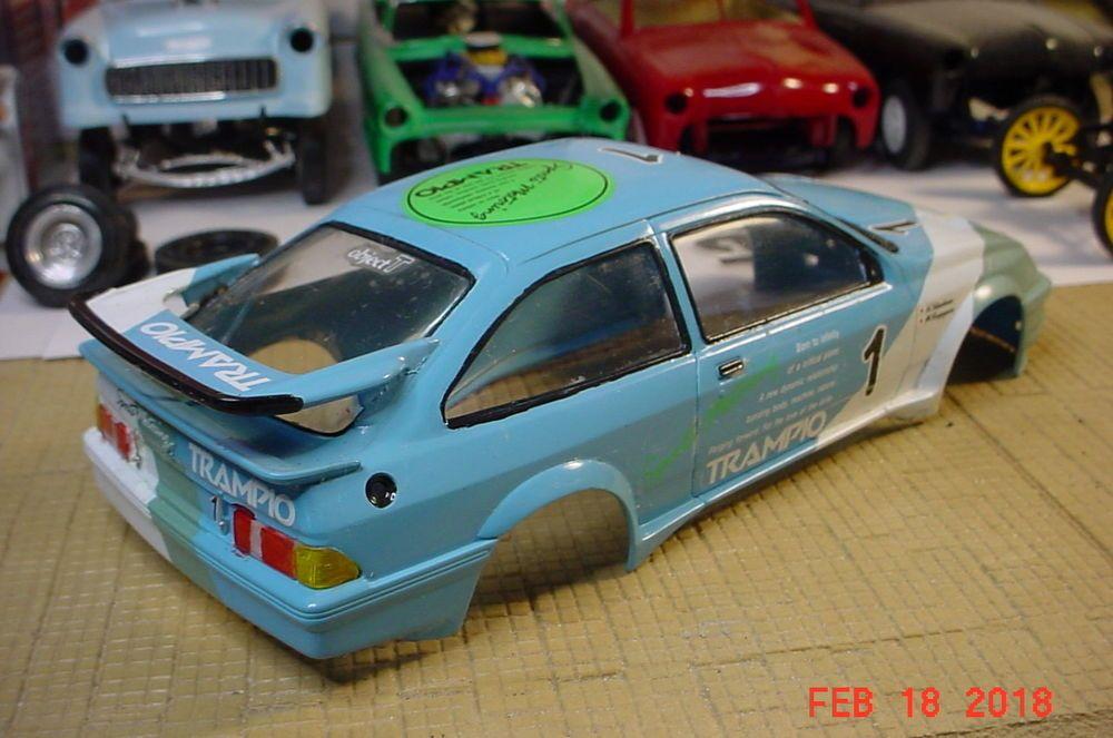 Tamiya Ford Sierra Xr4ti Trampio Yakashima Kayagama 1 24 Body Only