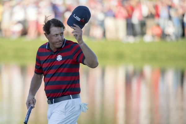 Phil Mickelson and five others shared the first-round lead and Rory McElroy was in a group one shot behind at the World Golf…