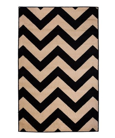 Just Bought This Black Amp Tan Zigzag Rug By Infinity Home