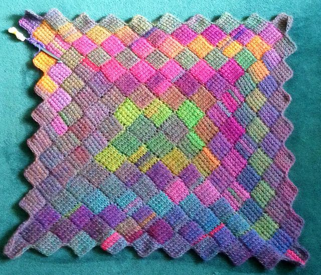The Kenneth St Boudoir Tunisian Entrelac Crochet Or Oh No Not