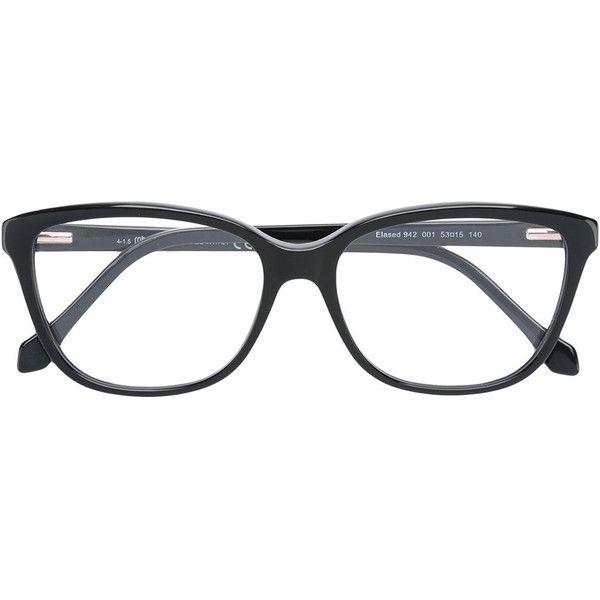 Roberto Cavalli square frame glasses ($290) ❤ liked on Polyvore ...