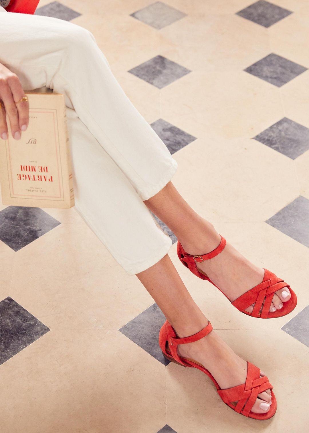 767eadbdc5d Sézane - Low Elise sandals $200 | Fashion for Feet Summer 2018 ...