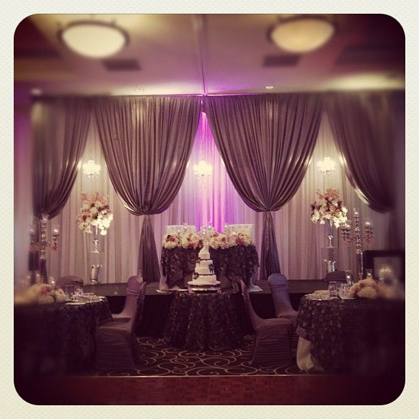 Wedding Head Table Backdrops | Save on your event decor. - UNIQUEK ...
