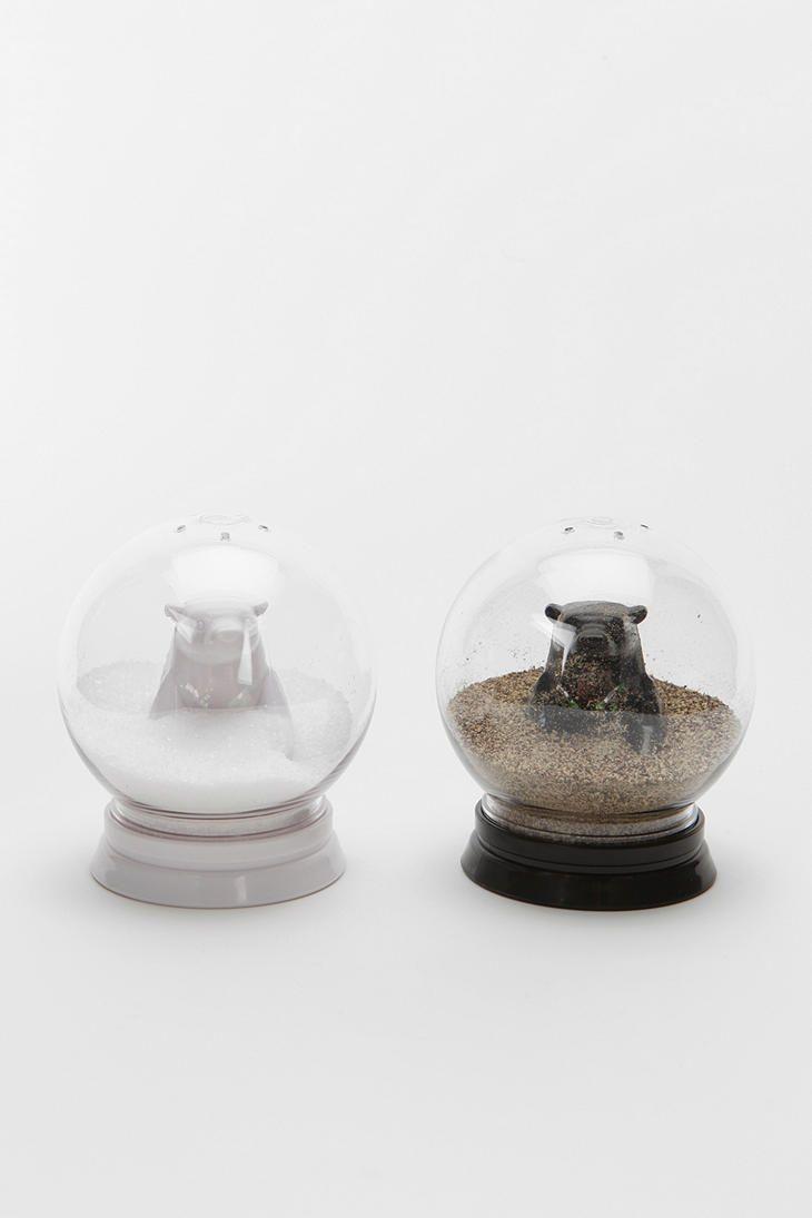 Snow Globe Salt And Pepper Shaker Set Of 2 Stuffed Peppers Salt And Pepper Shaker Snow Globes