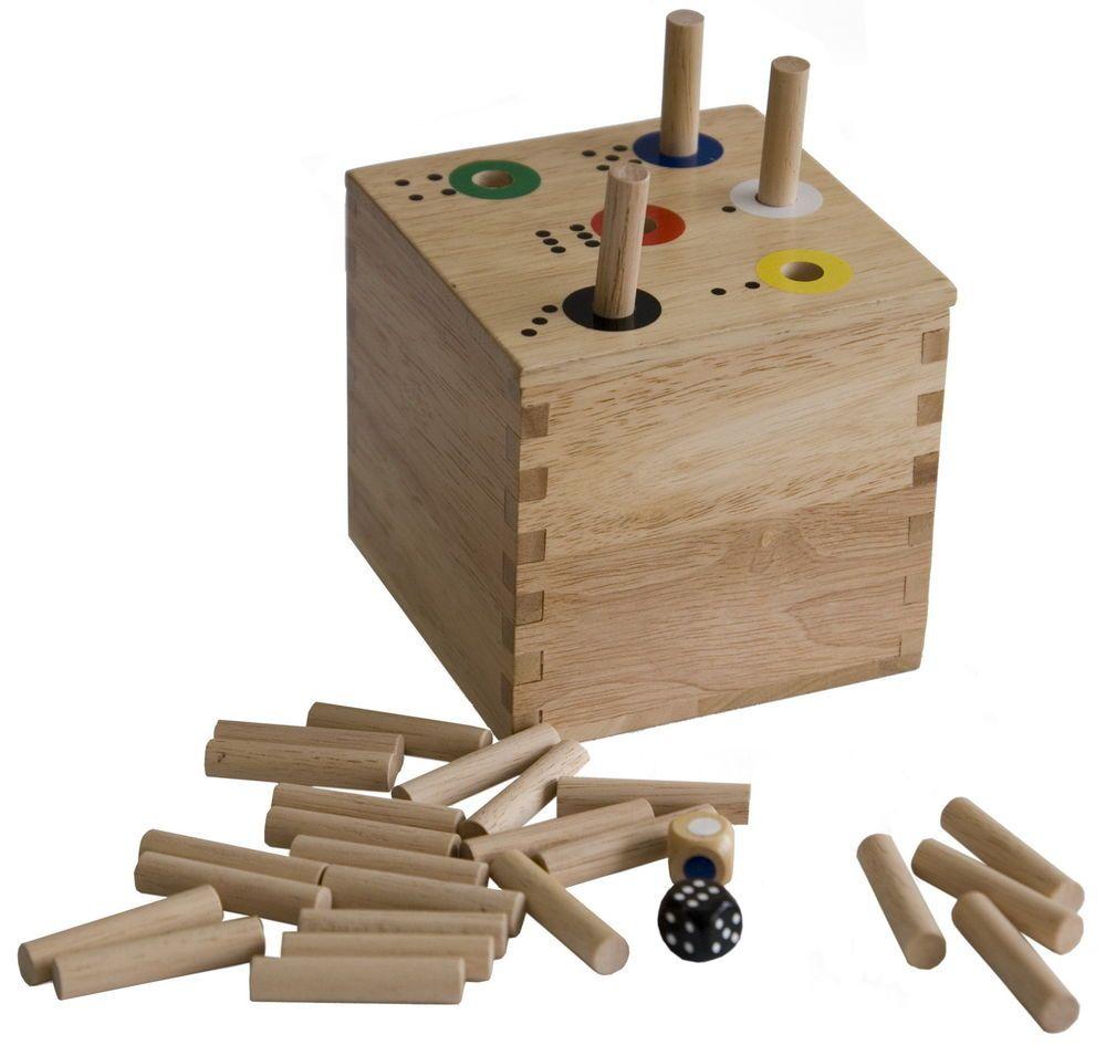 Riesen Ab In Die Box Wurfelspiel Geschenkidee Kindergeburtstag Holzspiele Wurfelspiele Wurfel