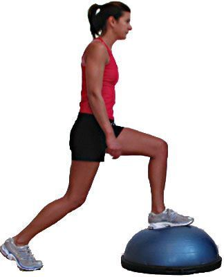 new to the bosu here are 10 exercises to get you started