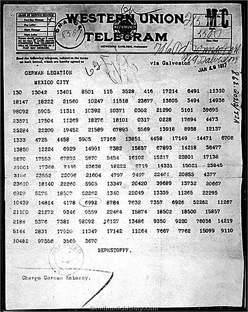 Zimmermann Telegram published in United States