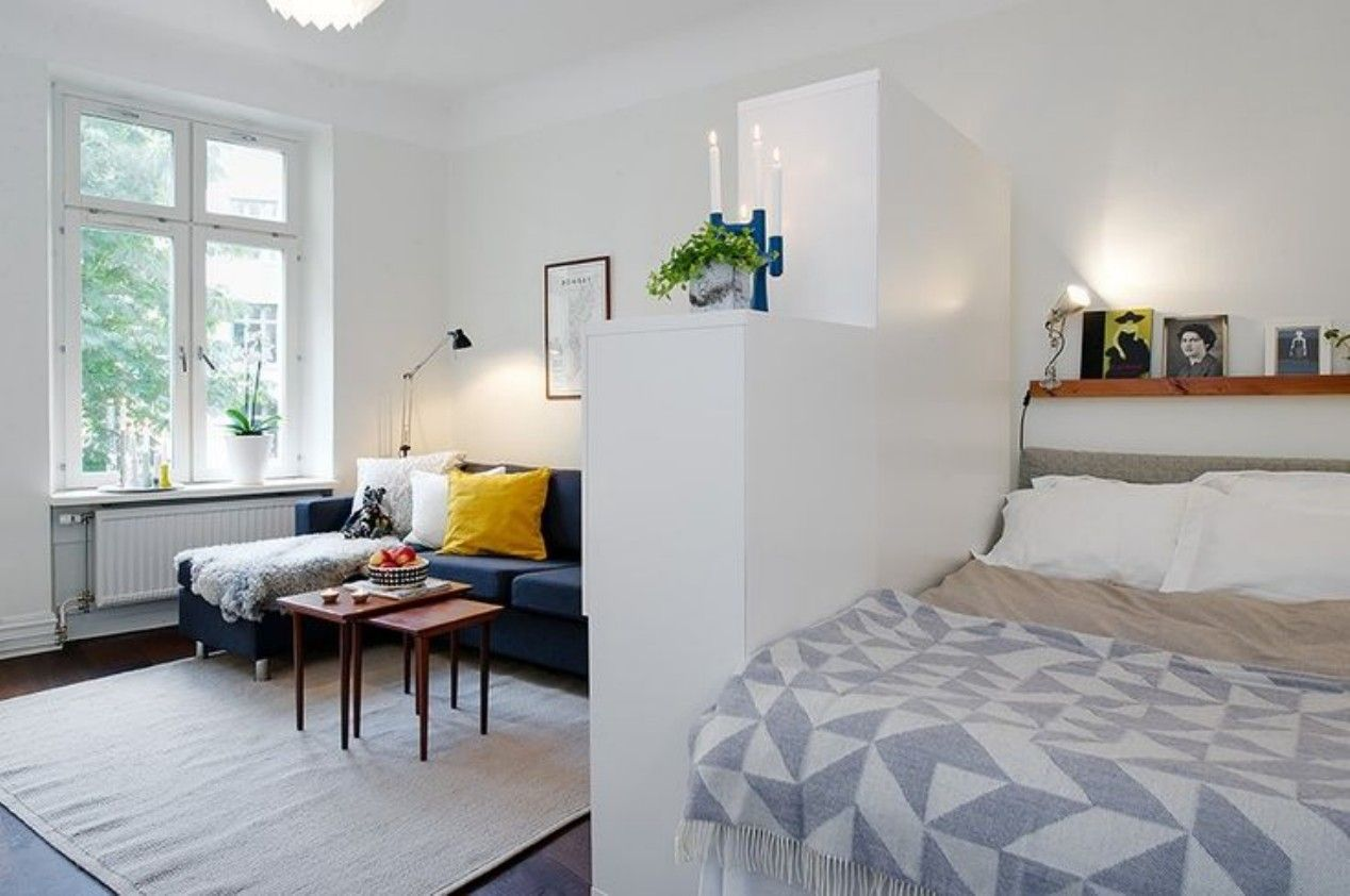 46 Amazing Efficiency Apartment Decorating Ideas Studio