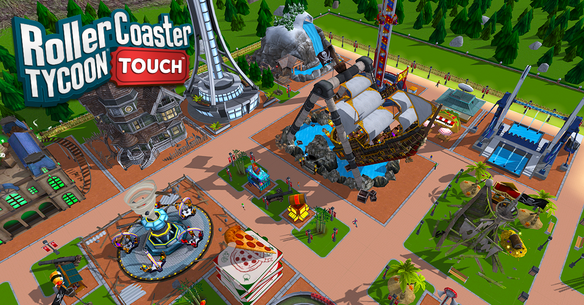 PRODUCT INFORMATION RollerCoaster Tycoon Touch iOS, An