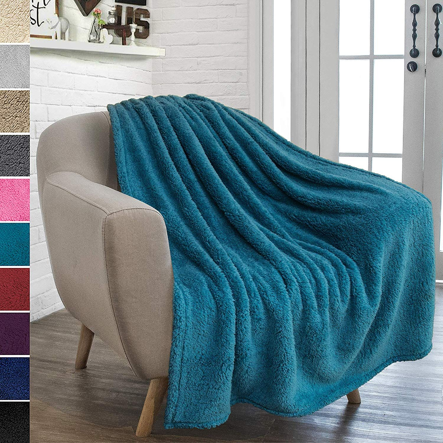 Pavilia Blankets Sale Online Sale Ease Bedding With Style Turquoise Blanket Throw Blanket