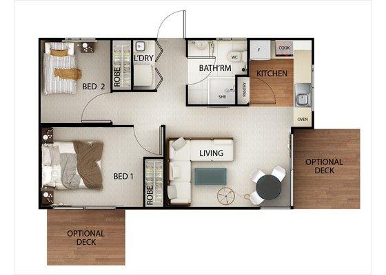 Impressive Backyard Granny Flats By Nova Design Granny Flats Small House Design Small House Plans Hotel Room Design